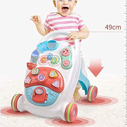 Multifunctionele Peuter Rollator, Geometric Blokken Learning Educatief Speelgoed Preschool Toys Voor Baby Kinderen Kids Toddlersremovable
