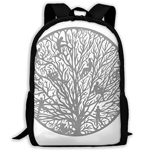 Tree Of People Life Variety Face Towel The Hedgehog 11 Backpack Shoulder Bag Travel Bags Laptop Bag School Bag For Boys Girls