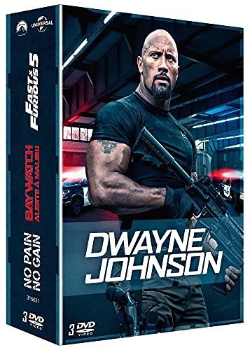 Dwayne Johnson-Coffret : Fast & Furious 5 + Baywatch-Alerte à Malibu Pain No Gain