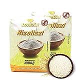 LoveDiet Reismehl glutenfrei 2 x 1000 g Sparpaket | 2000 g Vollkornreismehl zum Backen, Kochen, Panieren und...