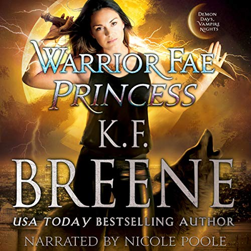 Warrior Fae Princess audiobook cover art