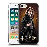 Head Case Designs Harry Potter Hermione Granger Chamber of Secrets IV - Carcasa de Gel Suave Compatible con Apple iPhone 7, iPhone 8 y iPhone SE 2020