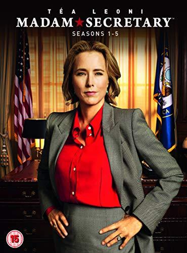 Madam Secretary: Season 1-5 (20 Dvd) [Edizione: Regno Unito]