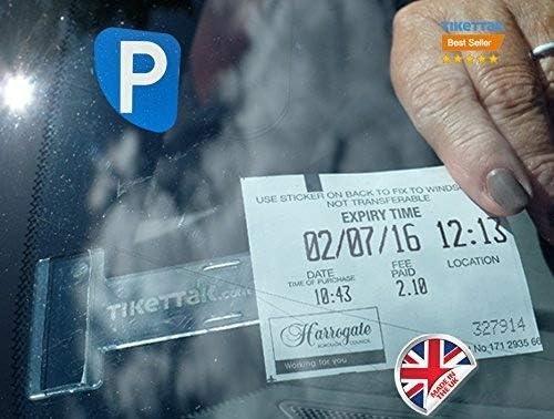 Supporto per Biglietti per Parabrezza per Parabrezza per Auto da Viaggio Auto Trasparente