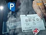 Tikettak, porta biglietti e note per parabrezza auto, camper, caravan (aiuta ad evitare le...