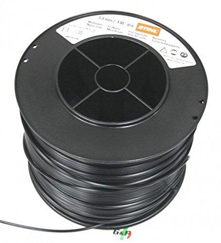 Stihl Fil débroussailleuse 3,3 mm rond noir 236 m