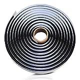 15FT Butyl Rope Butyl Rubber Sealant Tape for RV Car Headlamps Window Door Windshield, Black Waterproof Butyl Seal Tape- 3/8' X 15'(4.5m)