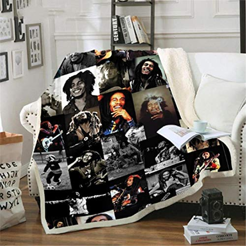 ANHHWW Cama de bebé manta de franela para carrito 150x150cm Película, personaje, hombre, clásico Manta de franela para bebé Manta para dormir para jardín de infantes dormitorio de estudiantes