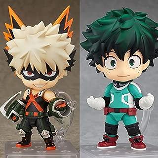 PampasSK Action & Toy Figures - Anime My Hero Academia Nendoroid 705 bakugou Katsuki & 686 MIDORIYA IZUKU PVC Action fiugre Collection Model Toys boy Gift 1 PCs