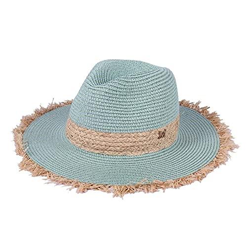 gorra Gorra de vaquero de verano, sombreros de sol casuales para mujer, moda, letra M, paja de jazz para...