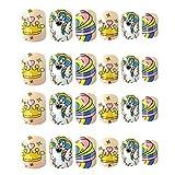 Uonlytech 24 Pcs Enfants En Plastique Ongles Conseils de Bande Dessinée Licorne Imprimé Presse Sur Faux Ongles Pour Enfants Party Favors Cadeaux
