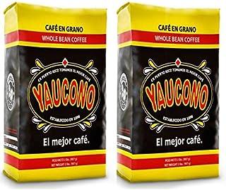 Cafe Yaucono Original Coffee Beans 2 pounds bag (2 Bags)