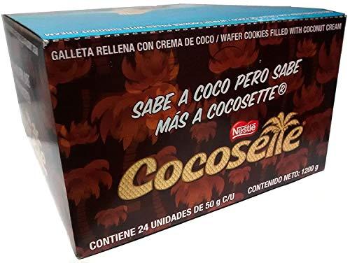 COCOSETTE 24 und de 50 gr c/u Galleta Rellena Con Crema De Coco / COCOSETTE 24 units 1.76 Oz each Cookie Filled with Coconut Cream