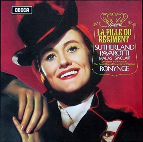 La Fille Du Régiment (Sutherland, Pavarotti, Bonynge) [2x Vinyl LP]