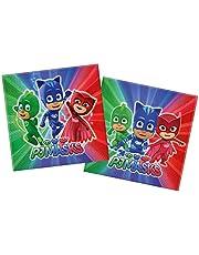 Procos 20 2-Ply Paper Napkins 33*3Cm Pj Masks Entertainment One