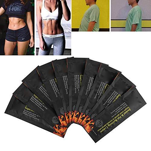 Brennende Creme Fettverbrennender Körper Abnehmen Shaping Creme Anti-Cellulite Unisex Fettverbrennende Gewichtsverlust Creme für Bierbaucheimer Taille Taille Bauch Fett...