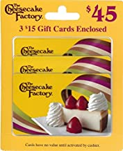 The Cheesecake Factory Gift Cards, Multipack of 3