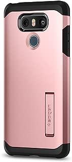 Spigen Tough Armor Designed for LG G6 Case (2017) / Designed for LG G6 Plus Case (2017) - Rose Gold