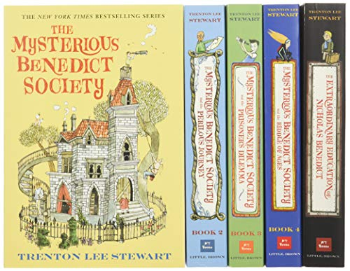 The Mysterious Benedict Society Paperback Boxed Set