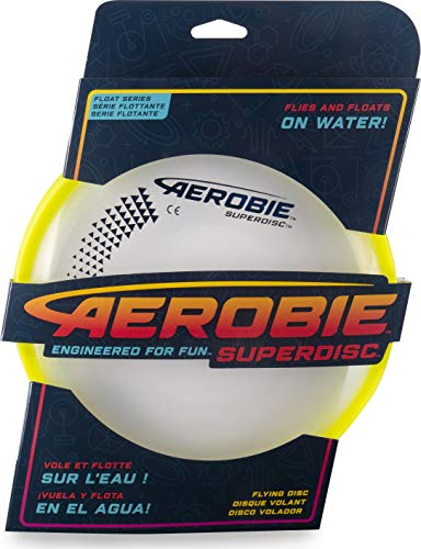 Aerobie 6046399 Super Disc  Assorted Colours Pack of 1