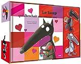 Le Loup qui cherchait une amoureuse - Coffret Livre (petit format) + 2 figurines Loup et Louve amoureux