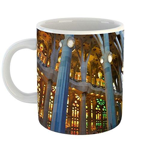 Westlake Art - Interior Gaudi - 11oz Coffee Cup Mug - Modern Picture Photography Artwork Home Office Birthday Gift - 11 Ounce (09B6-95F97)