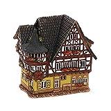 Dekohelden24 Licht und Duftölhaus Fachwerkhaus, Keramik, Haus E, 12