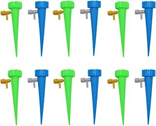 BESPORTBLE Plant Watering Spikes Self Watering Devices with Slow Release Control 12 Pack Automatic Plant Waterer Self Irri...