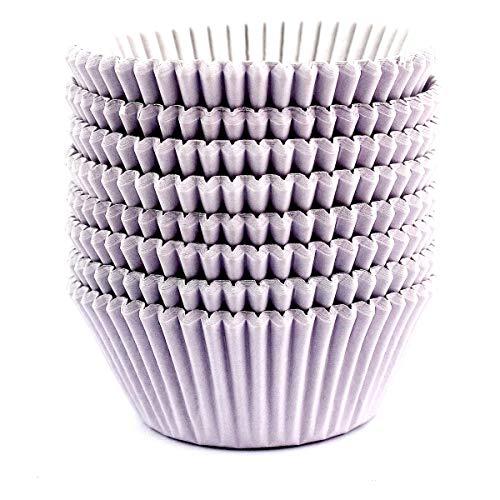 Eoonfirst Standard Size Baking Cups 200 Pcs (Light Purple)