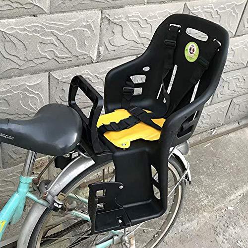 Fahrradträgersitz, Fahrradsicherheit Kindersitz Mit Handlauf Rückenlehne Und Fußplattform Komfortable Fahrradhalterung Fahrradsitz Kindertrage Für Kinder Kleinkinder Kinder