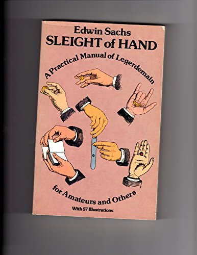Sleight Of Hand Book by Edwin Sachs - Book