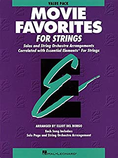 Essential Elements Movie Favorites for Strings: Value Pack (24 Part Books, Conductor Score and CD)