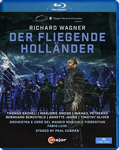 ワーグナー : 歌劇 「さまよえるオランダ人」 (Richard Wagner : Der Fliegende Hollander / Fabio Luisi | Orchestra e Coro Del Maggio Musicale Fiorentino) [Blu-ray] [Import] [Live] [日本語帯・解説付]