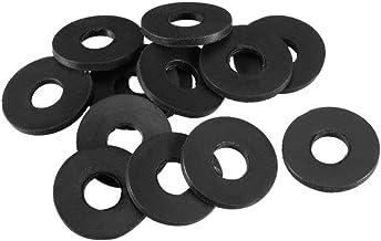 uxcell ワッシャー シールリング Oリング 6x16x1.5mm ホースガスケット ゴム素材 蛇口グロメット 10個