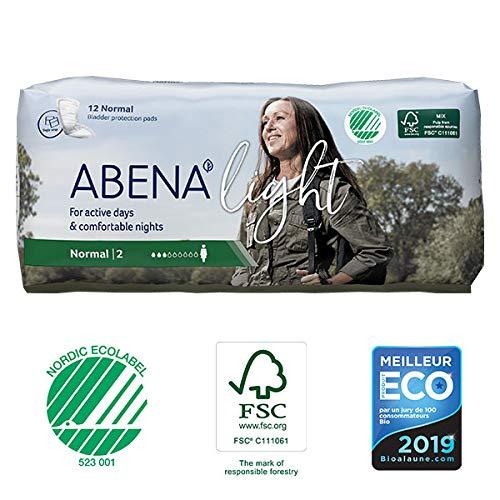 Abena - Protections Anatomiques Light Normal 12 Protections - Lot De 4 - Prix Du Lot - Livraison Rapide En France Métropolitaine