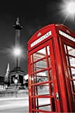 1art1 49214 London - Rote Telefonzelle, Trafalgar Square