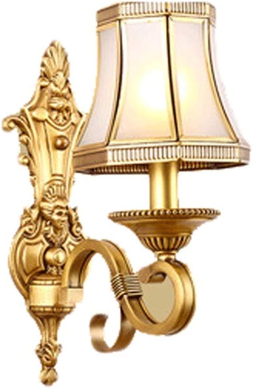 GCX-Wandleuchte Wandleuchte Wohnzimmer Schlafzimmer TV Wand Persnlichkeit Wandleuchte Dekoration Badezimmer Schminktisch Lampe (Farbe   A, gre   17  38cm)