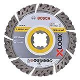 Bosch Professional 2608615161 Disco Diamantato Universale, X-Lock, Diametro 125 mm, Diamet...