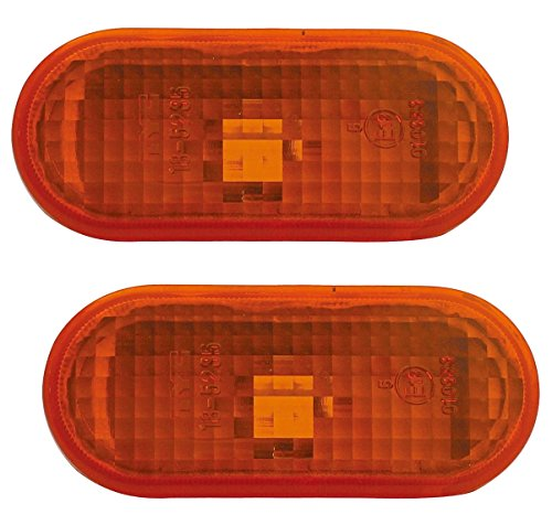 TYC 18-5235-05-2-Set Seitenblinker Set in Orange (2teilig) Links + rechts Blinke