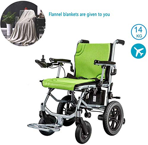 Great Price! XSARACH Lightweight Wheelchair, Dual Function Heavy Duty, Foldable Compact Electric Whe...