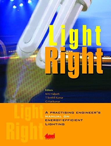 Light Right: a practising engineer's manual on energy-efficient lighting:  prospects and constraints (English Edition)