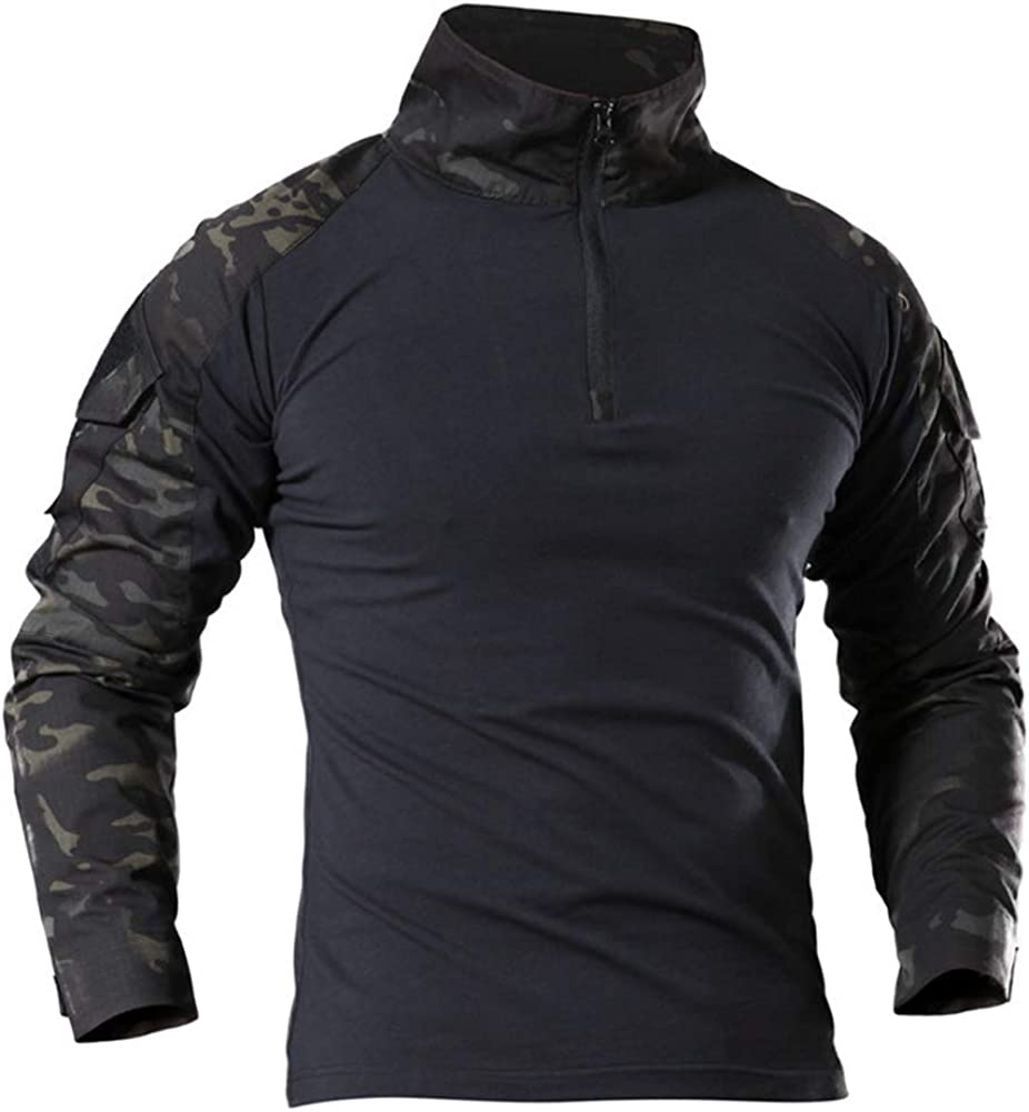 LiliChan Tactical Shirts for Men Shirt shop Military 4 years warranty Long Sleeve Outd