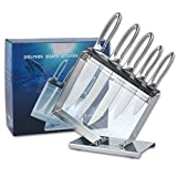 Best Chef Knife Set Professionals - WOLYFUN Chef Knife Set 5 Piece With Dolphin Review