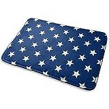 Not applicable USA Bandiera Stella assorbente d'acqua antiscivolo tappetino da bagno Memory Foam bagno tappeto macchina lavaggio e asciugatura rapida pavimento tappeto per cucina bagno