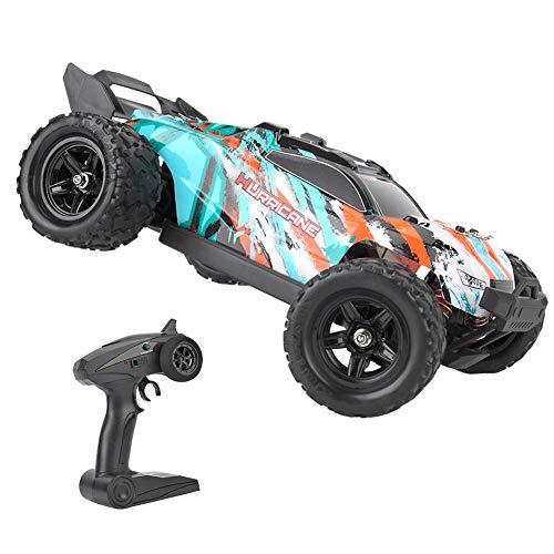Drfeify Coche Teledirigido de RC, Juguetes de 2.4GHz RC Off-Road Truck para Niños y Adultos, Coche de Velocidad Rápida RC Modelo de Juguete para 1/18 RC Car(Verde)