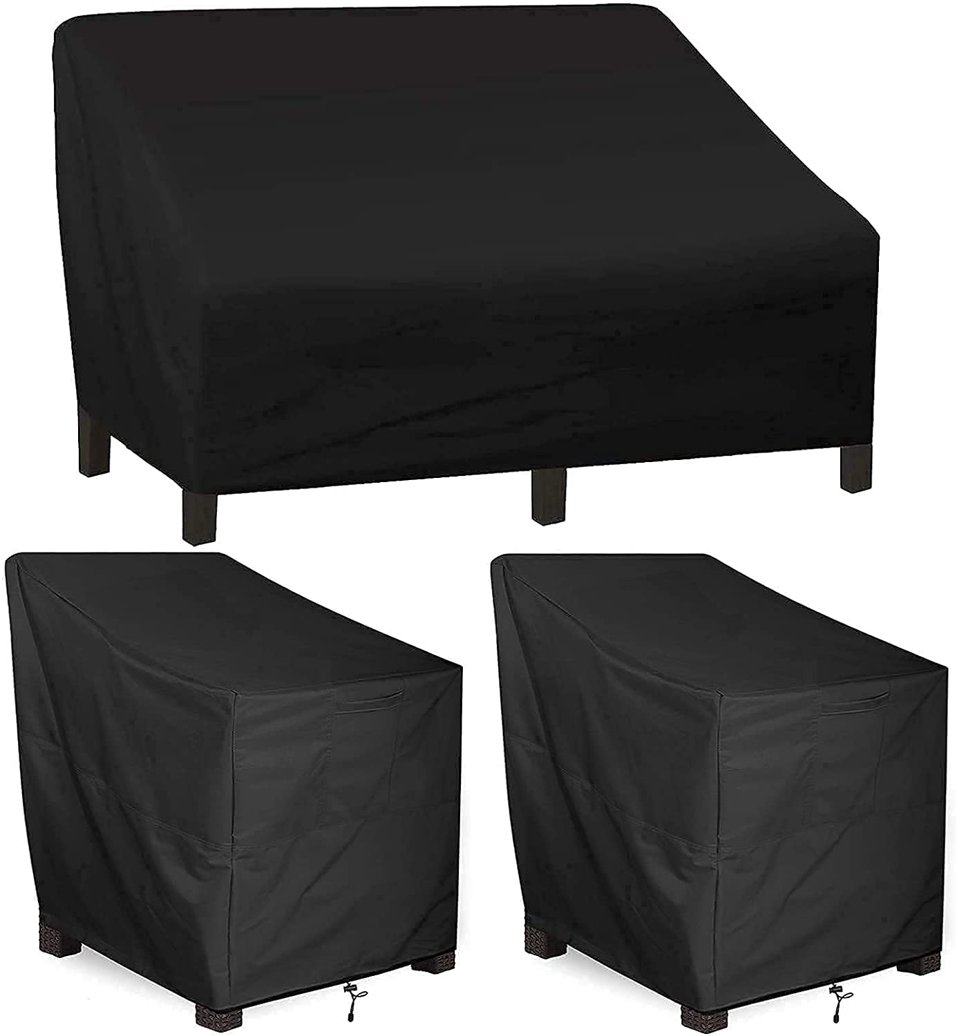 Outdoor Chair Covers Daily bargain sale 2 Pack ALSTER Loveseat Durable and Brand Cheap Sale Venue