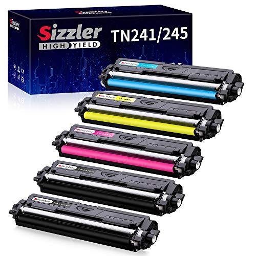 Sizzler TN241 TN245 Toner per Brother TN-241 TN-245 Cartucce Toner per Brother HL-3140CW HL-3150CDW HL-3170CDW HL-3172CDW MFC-9340CDW MFC-9140CDN MFC-9330CDW MFC-9332CDW DCP-9020CDW DCP-9015CDW