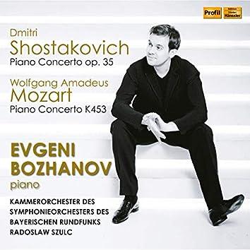 Mozart & Shostakovich: Piano Concertos (Live)