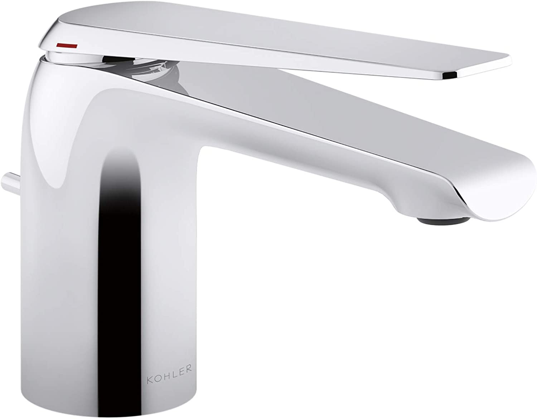price Kohler K-97345-4-CP Avid 40% OFF Cheap Sale Sink Faucet Polished Chrome