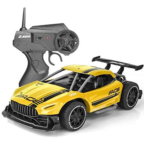 Kinderspielzeug Fernbedienung Auto für Jungen Mädchen RC Auto 1/24 Maßstab Modell Auto Radio Kontrolliert...